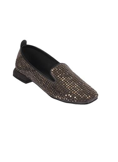 Mhd 323 Platin Kadın Günlük Ayakkabı Gümüş